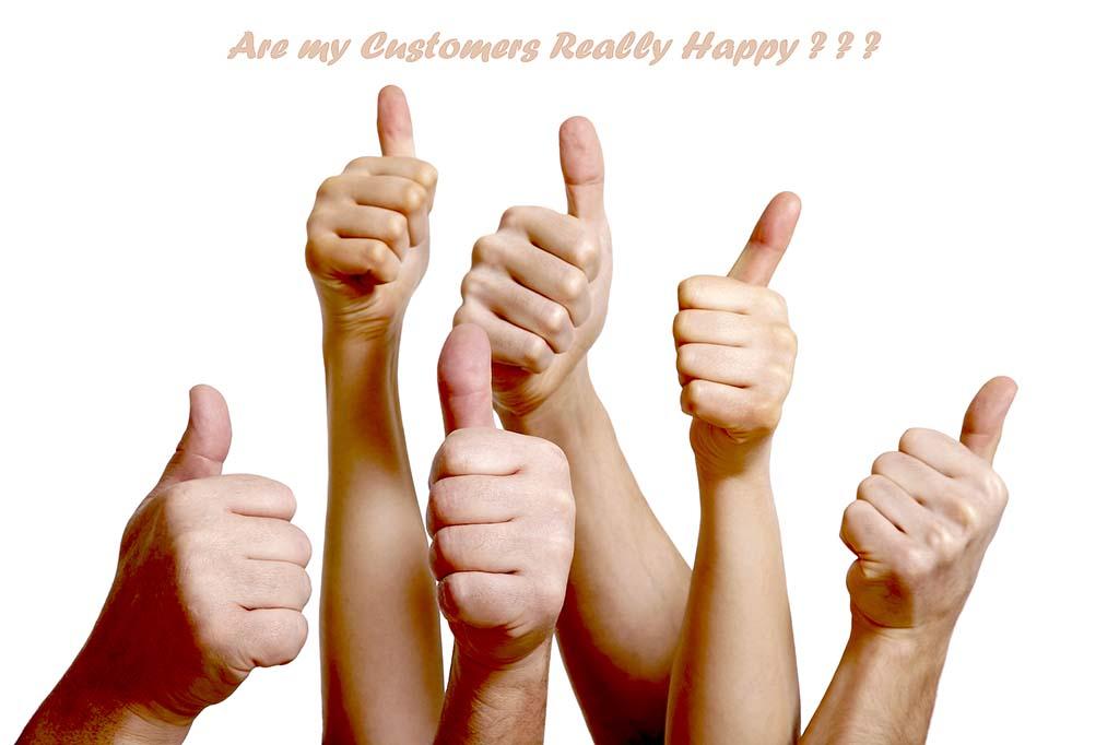 TKN - Customers Satisfied Thumbs Up