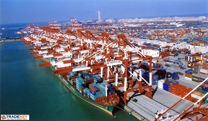 Chinese port - Guangzhou Port Forefront - TKNews