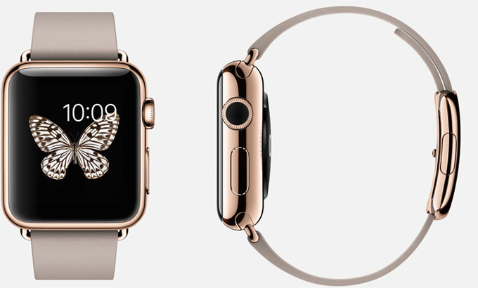 TKN - Apple Watch Edition Gold plus Leather
