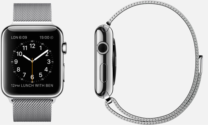 TKN - Apple Watch Stainless Steel belt - Credits: Apple Official